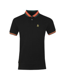 Luke Sport Mens Black Shooting Star Polo