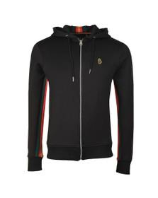 Luke Sport Mens Black Jaguar Full Zip Sweat