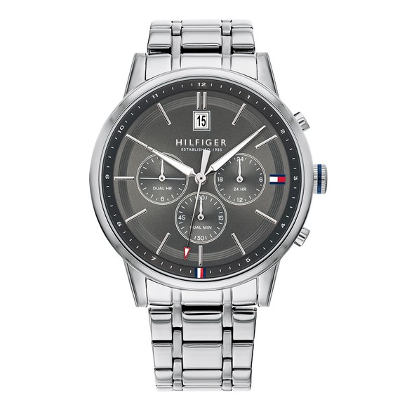Tommy Hilfiger Mens Silver 1791632 Watch
