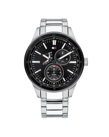 Tommy Hilfiger Mens Silver 1791639 Watch