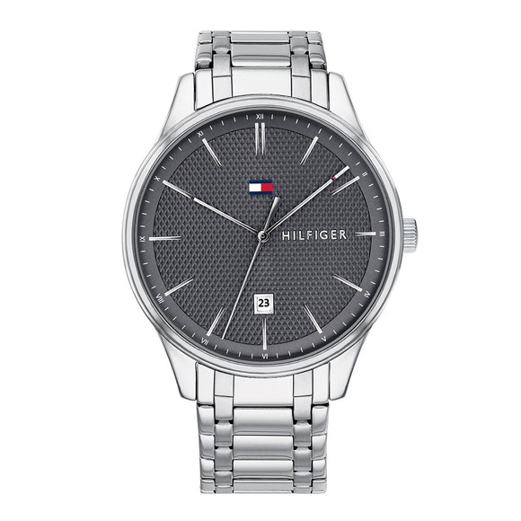 Tommy Hilfiger Mens Silver Damon Watch main image