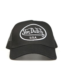 Von Dutch Mens Black New Trucker Cap