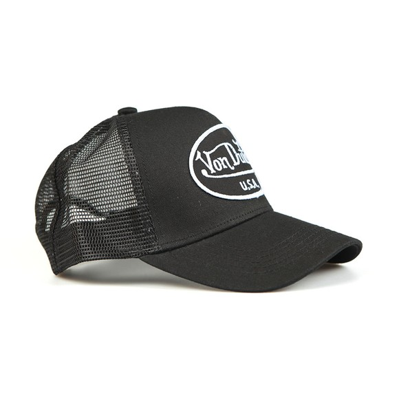 Von Dutch Mens Black New Trucker Cap main image