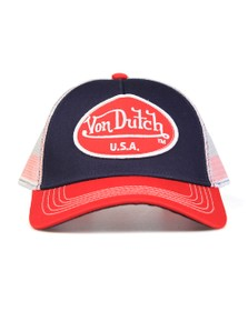 Von Dutch Mens Blue New Trucker Cap