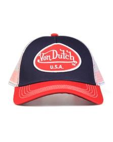Von Dutch Mens Blue New Trucker Cap