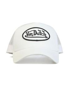 Von Dutch Mens White New Trucker Cap