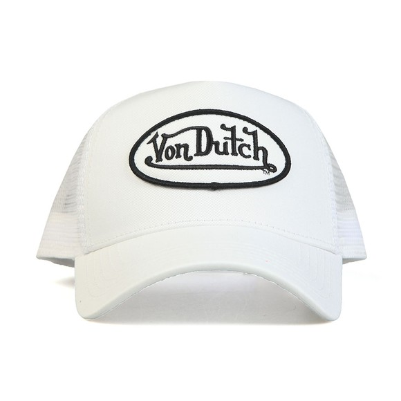 Von Dutch Mens White New Trucker Cap main image