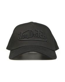 Von Dutch Mens Black New Solid Embroidered Cap