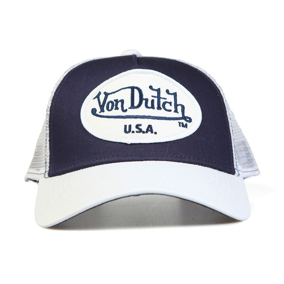 Von Dutch Mens Blue New Trucker Cap main image