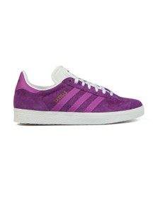adidas Originals Womens Purple Gazelle OG W Trainer
