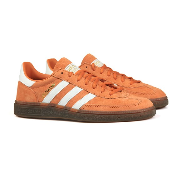 adidas Originals Mens Orange Handball Spezial Trainers main image