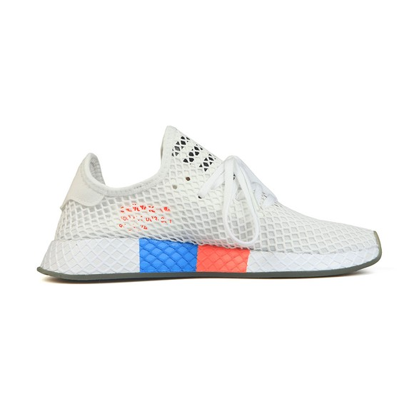 adidas Originals Mens White Deerupt Trainer main image