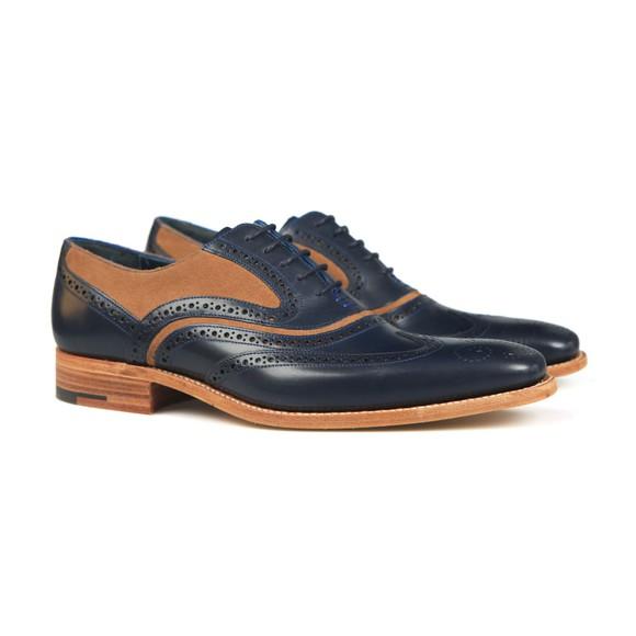 Barker Mens Blue McClean Shoe