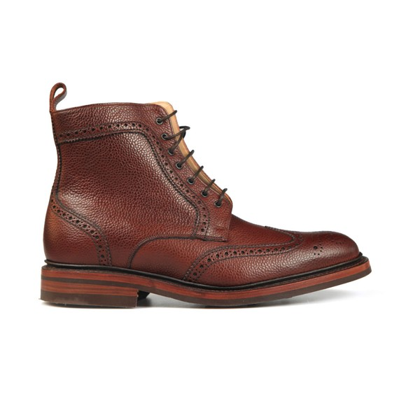 Barker Mens Red Calder Boot