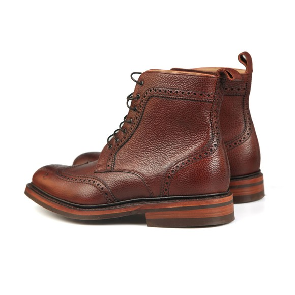 Barker Mens Red Calder Boot main image