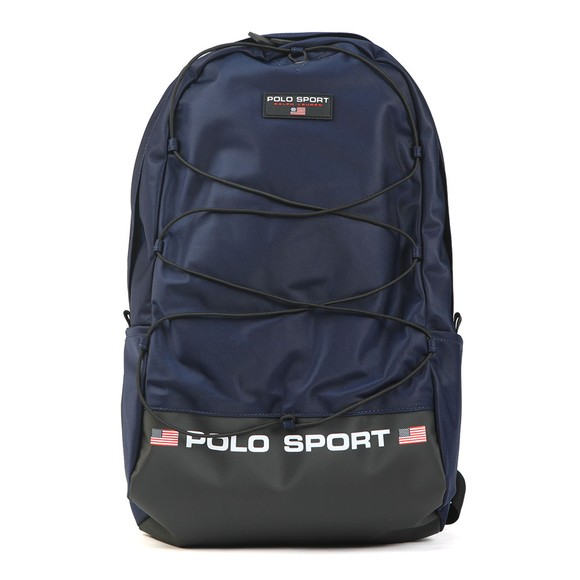Polo Ralph Lauren Sport Mens Blue Nylon Backpack