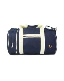 Fred Perry Mens Blue Twin Tipped Barrel Bag