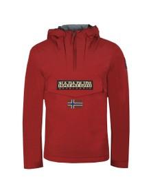 Napapijri Mens Red Rainforest Winter Jacket
