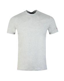 Dsquared2 Mens Grey Box Leaf Logo Arm T-Shirt