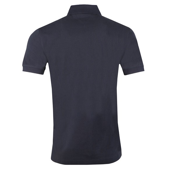 Tommy Hilfiger Mens Blue Placket Polo main image
