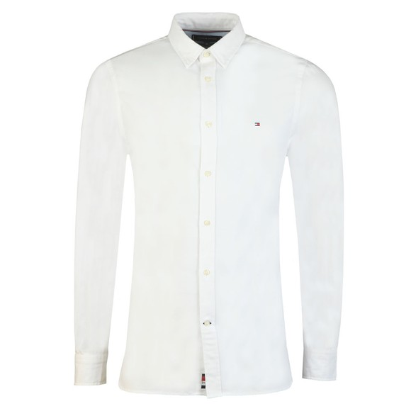Tommy Hilfiger Mens White 4 Way Stretch Shirt  main image