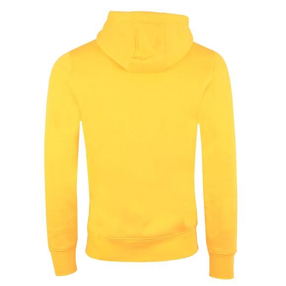 Tommy Hilfiger Mens Yellow Logo Hoody main image