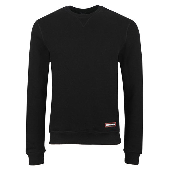 Dsquared2 Mens Black Hip Logo Sweatshirt