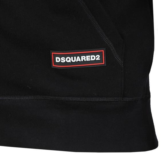 Dsquared2 Mens Black Hip Logo Hoody