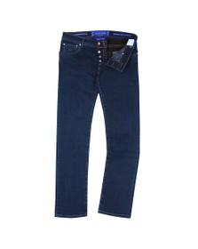 Jacob Cohen Mens Blue J622 Pruneshade Slim Jean