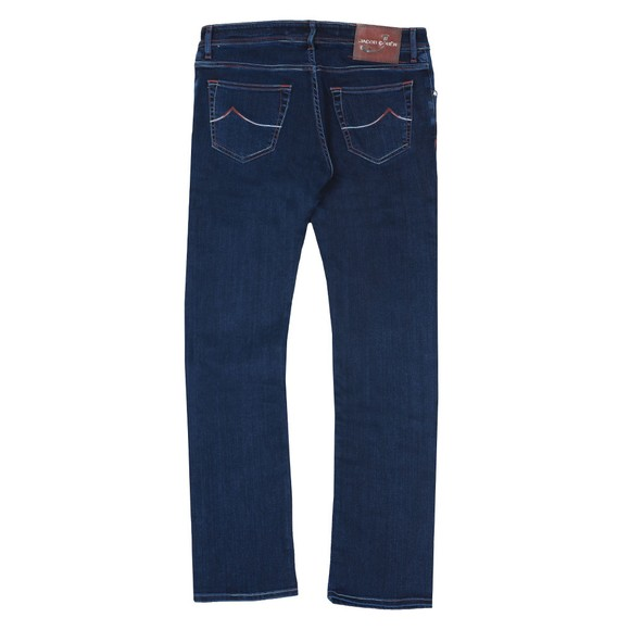 Jacob Cohen Mens Blue J622 Pruneshade Slim Jean