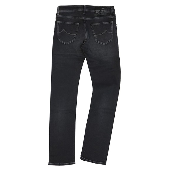 Jacob Cohen Mens Black J622 Comfort Slim Jean