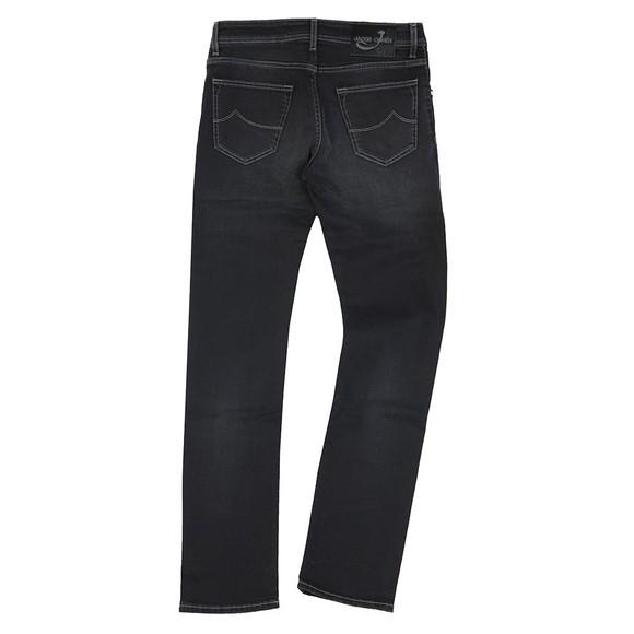 Jacob Cohen Mens Black J622 Comfort Slim Jean main image
