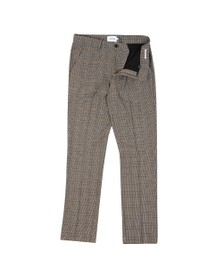 Farah Mens Beige Elm Check Trouser