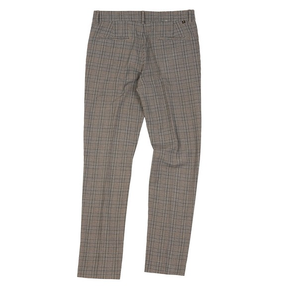 Farah Mens Beige Elm Check Trouser main image