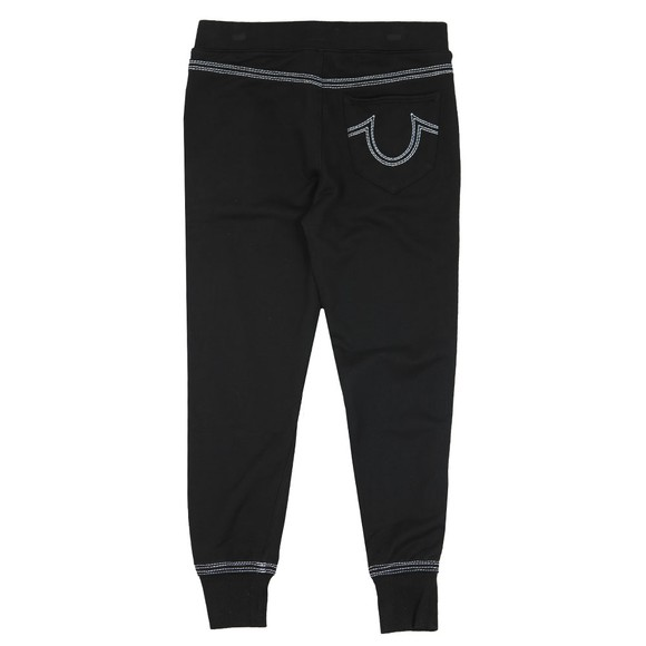 True Religion Mens Black QT Stitch Core Jogger main image
