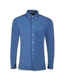 Lacoste Mens Blue CH0763 Stretch Shirt