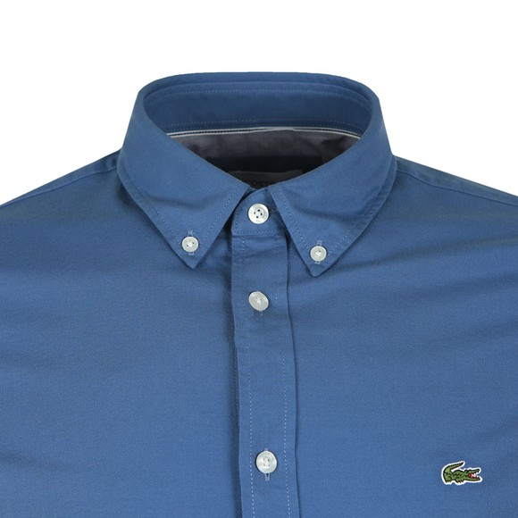 Lacoste Mens Blue CH0763 Stretch Shirt