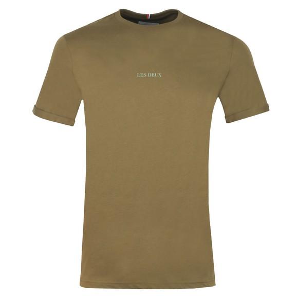 Les Deux Mens Green Lens T Shirt main image