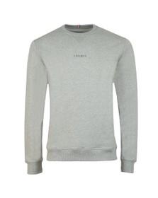 Les Deux Mens Grey Lens Sweatshirt