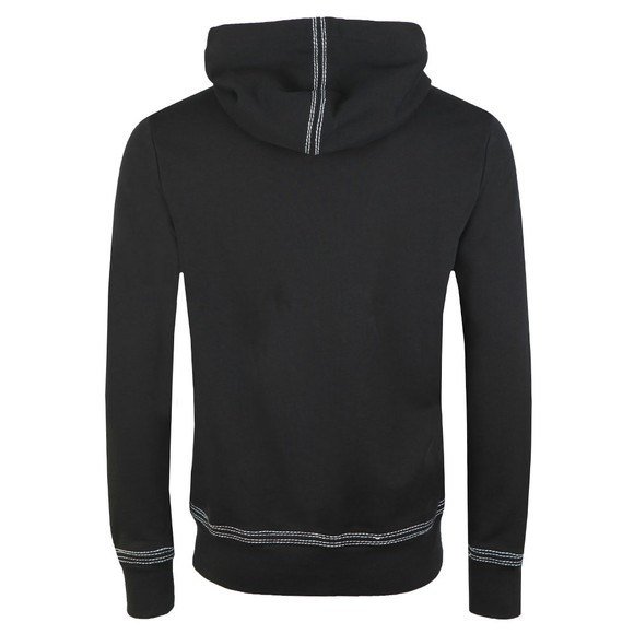 True Religion Mens Black QT Stitch Hoody main image