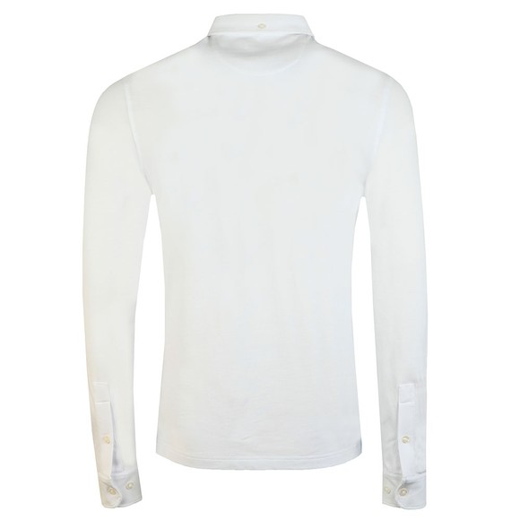 Farah Mens White Ricky LS Polo main image