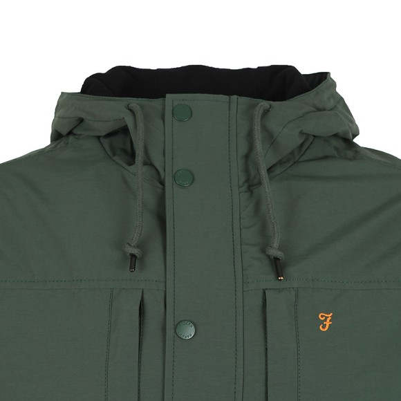 Farah Mens Green Maguire Fleece Lined Jacket main image