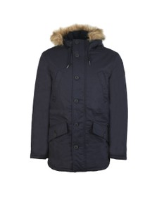 Farah Mens Blue Bolton Parka Jacket