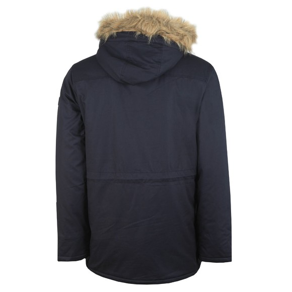 Farah Mens Blue Bolton Parka Jacket main image