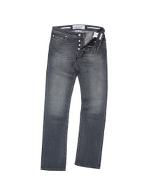 Jacob Cohen Mens Grey J622 Comfort Slim Jean