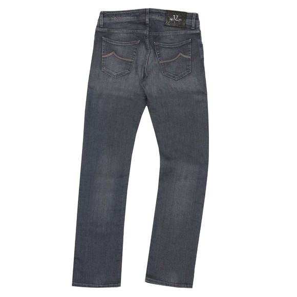 Jacob Cohen Mens Grey J622 Comfort Slim Jean