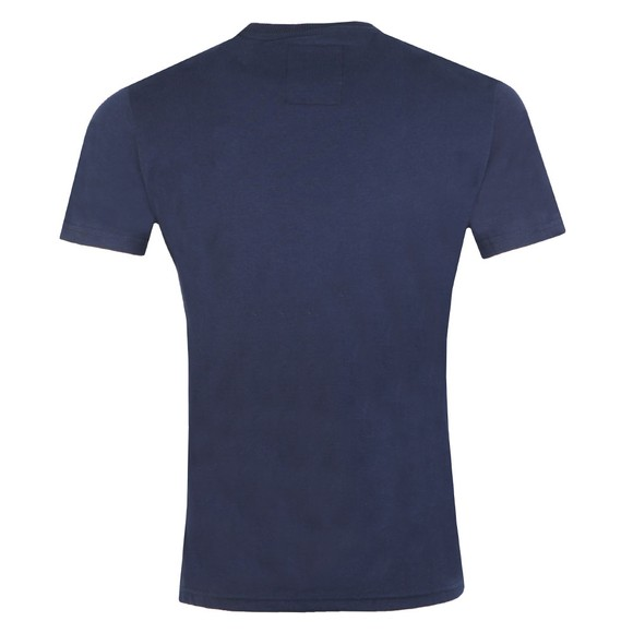 Superdry Mens Blue Retro Sport Tonal Tee main image