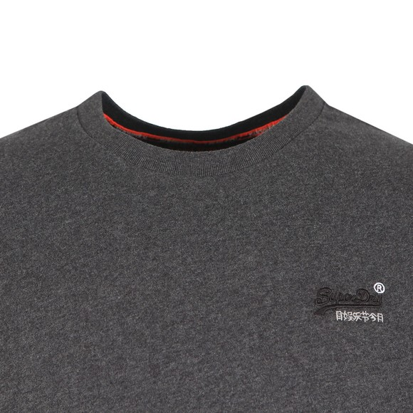 Superdry Mens Grey OL Vintage Embroidery T-Shirt main image