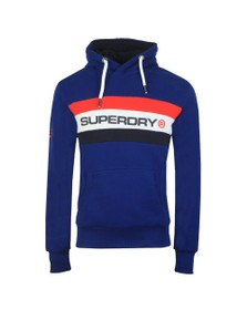 Superdry Mens Blue Trophy Classic Hood