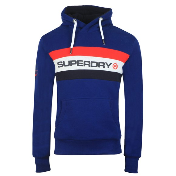 Superdry Mens Blue Trophy Classic Hood main image